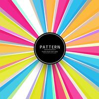 Abstracte kleurrijke stralen patroon achtergrond