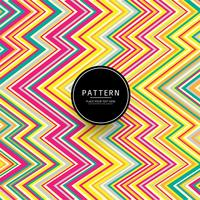 Modern colorful lines geometric pattern design