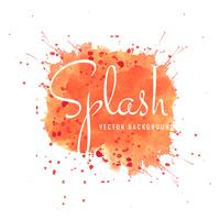 Elegant bright watercolor splash background