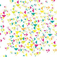 Illustration de fond abstrait triangles colroful