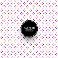 Modern colorful dotted pattern vector
