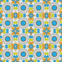 Abstract colorful mandala pattern background