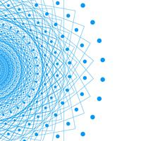 Modern swirl lines creative background vector