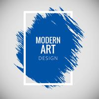 Modern art grunge background vector