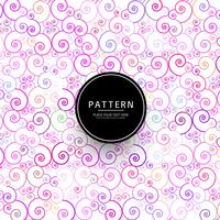 Abstract elegant colorful floral pattern background
