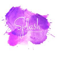Abstract colorful soft watercolor splash blot background
