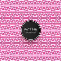 Fondo de patrón geométrico creativo