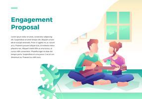 Förlovningsförslag Hem