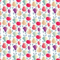 Vector Fruits Seamless Pattern