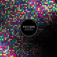 Abstract colorful halftone pattern background