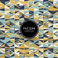 Vecteur de motif géométrique coloré abstrait