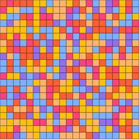 Modern colorful geometric mosaic background
