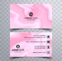Modern beautiful business card template