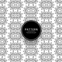Modern flower pattern background