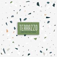 Terrazzo golvmönster bakgrundsdesign