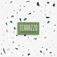 terrazzo floor pattern background design
