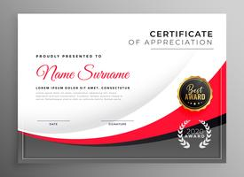 professional success certificate design template
