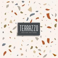 abstract terrazzo pattern background design