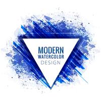 Modern blue watercolor elegant background