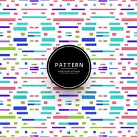 Abstrakte colroful geometrische Linien Muster Hintergrund
