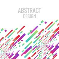 Abstract colorful bright line background illustration