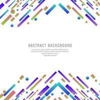 Beautiful colorful elegant lines design vector