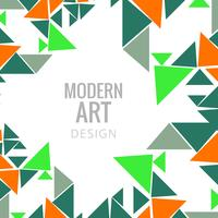 Modern colroful polygon background vector illustration