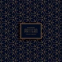 patrón geométrico oscuro hecho con líneas