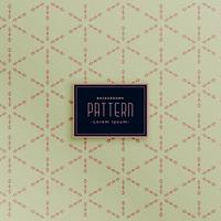 vintage stylish geometric pattern background