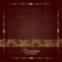 beautiful golden luxury pattern premium background