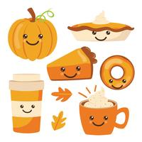 Pumpkin Spice Vector Pack