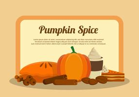 Pumpkin Spice Illustration