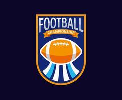 Emblemas del fútbol americano