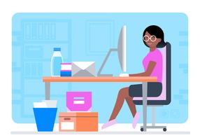 Vector Designer at  Desk Illustration