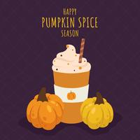 Pumpkin Spice Vector Illustration