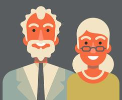 Grandparents Illustration