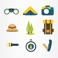 Jungle Explorer Elements Vector Pack
