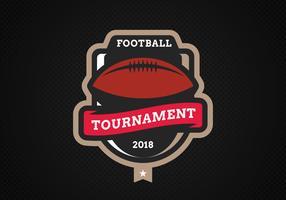 Emblema moderno de futebol americano