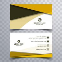 Modern colorful business card template design