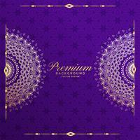 premium mandala invitation template background