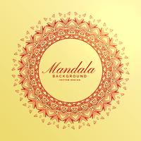 beautiful indian mandala decoration background