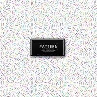 Moderne geometrische kleurrijke patroonvector