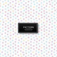 Moderne kleurrijke geometrische cirkel patroon vector