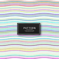 Elegant colorful lines pattern background