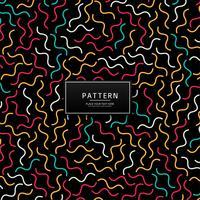 Design de padrão de linhas geométricas coloridas abstratas