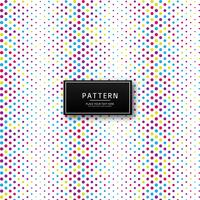 Abstract colorful dotted pattern background