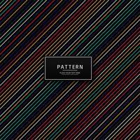 Abstrakt färgrik strep linjemönster design