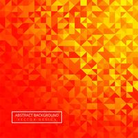 Ilustración de diseño colorido geométrico hermoso polígono