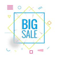 Modern big sale background