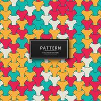 Design de fundo abstrato colorido padrão